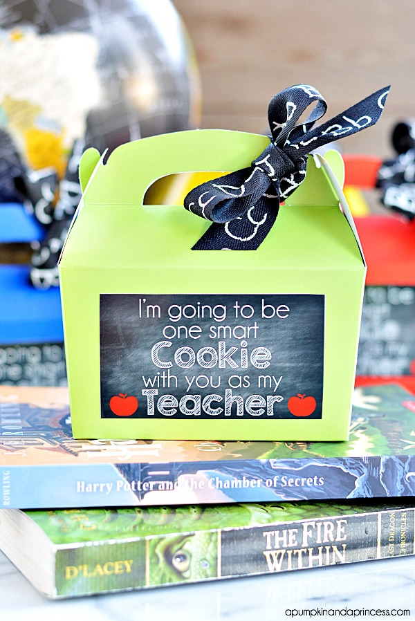 Smart Cookie Teacher Gifts-Printable Tags