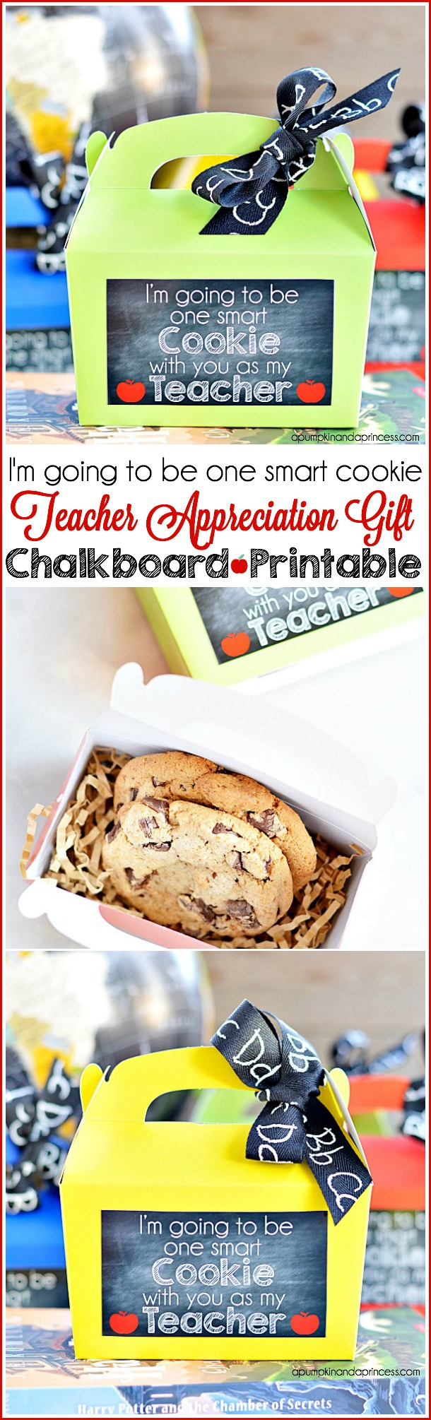 Teacher Appreciation Gift Printable - Smart Cookie Gift