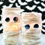 Cheesecloth Mummy Lanterns
