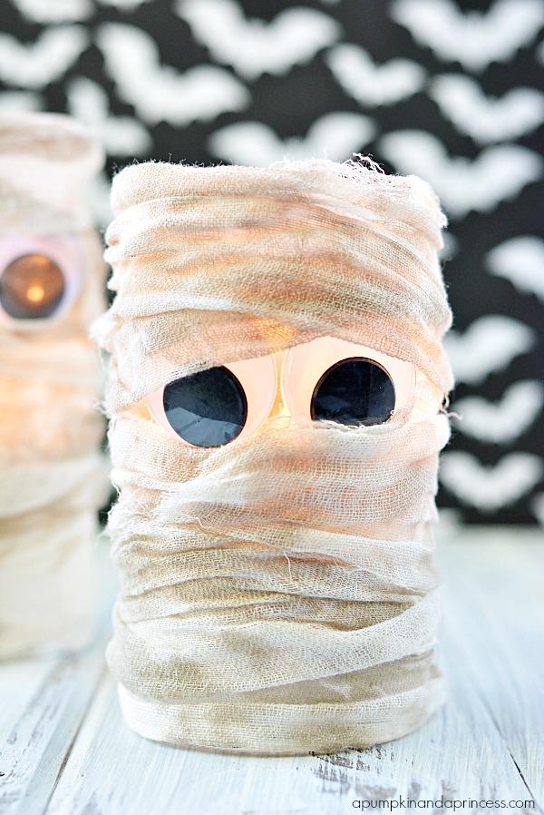 Halloween Mummy Lantern
