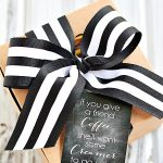 Coffee Gift + Printable Tag
