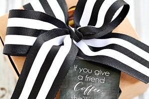DIY Coffee Gift Idea - Free Printable