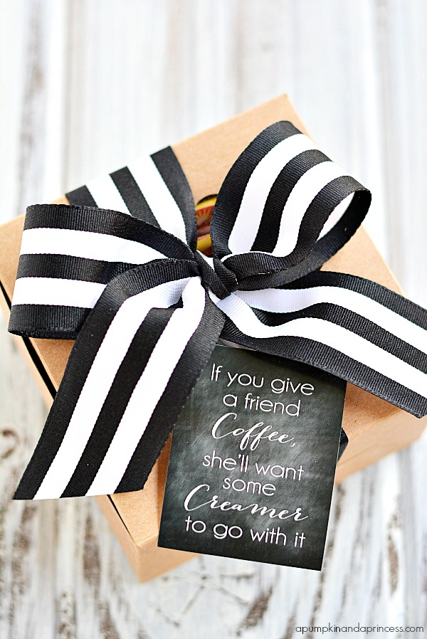 DIY Coffee Gift Idea - Free Printable