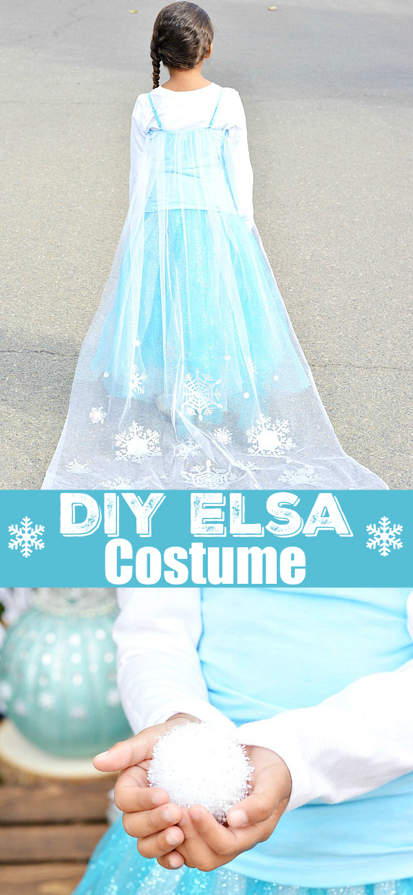 DIY Disney Frozen Elsa Costume