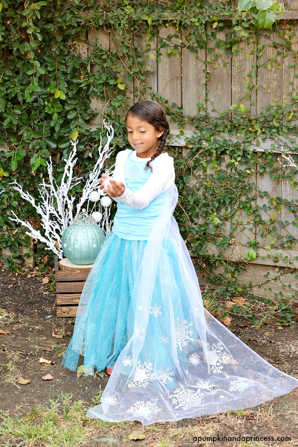 DIY Elsa Costume  sc 1 st  A Pumpkin And A Princess : homemade elsa costume  - Germanpascual.Com