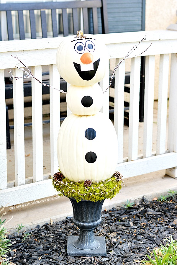 Disney Frozen Olaf Pumpkin