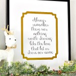 Custom Framed Family Quote {Printable}