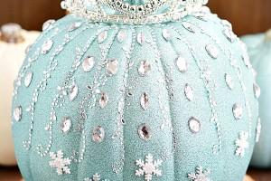 Disney Frozen Pumpkin Decorating