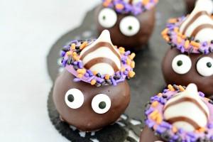 Goblin Truffles - last minute Halloween treats