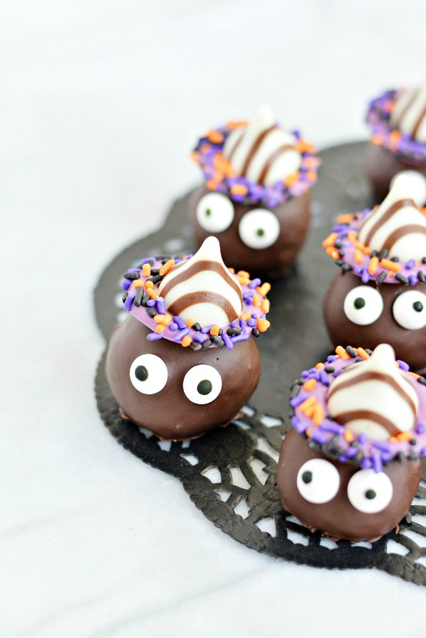 Goblin Truffles - last minute Halloween treats