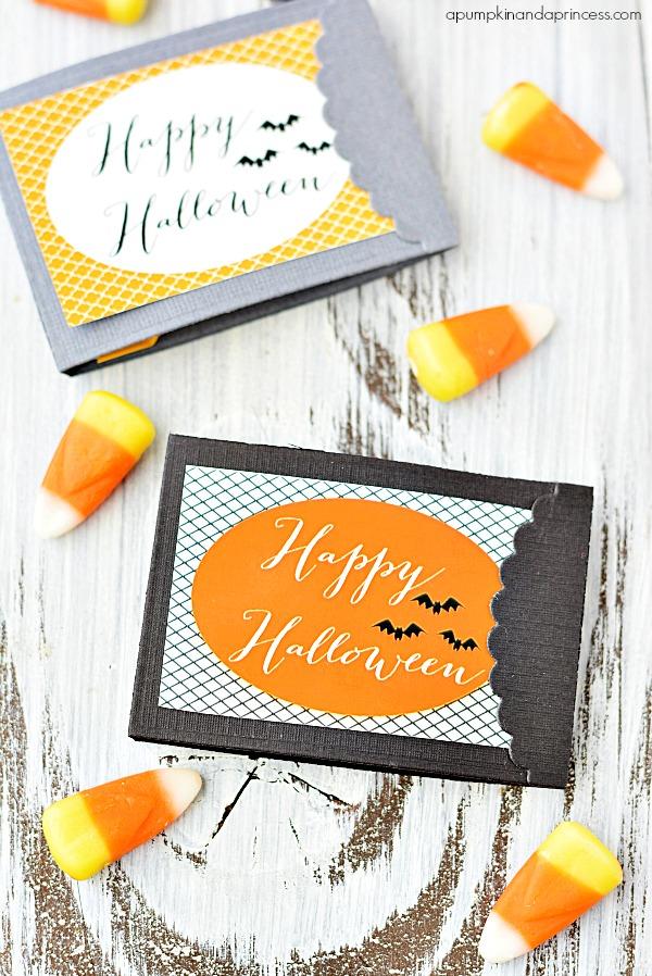 Halloween Printable Matchbook Treats