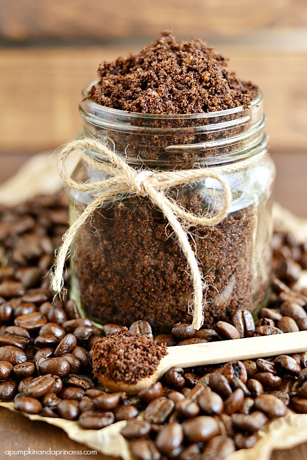 Homemade Coffee Sugar Scrub