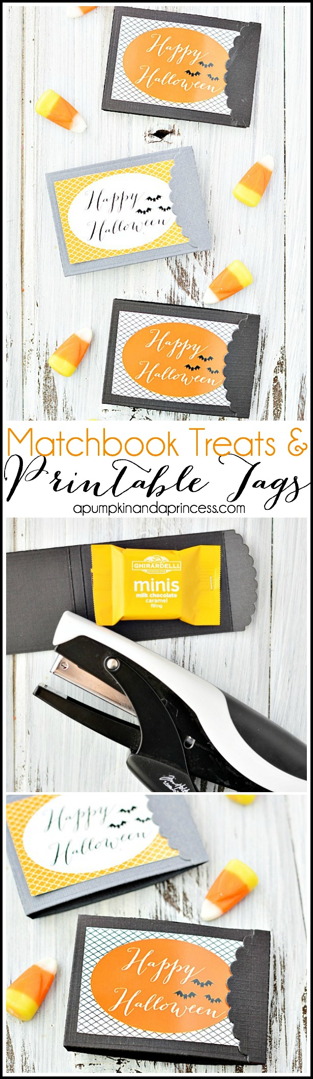 Matchbook Treats - Printable Halloween Tags