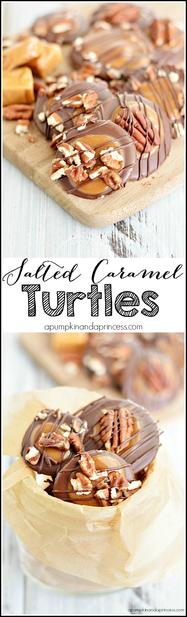Salted Carmel Turtles