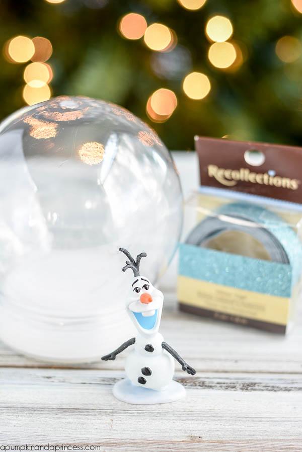 Olaf Snow Globe