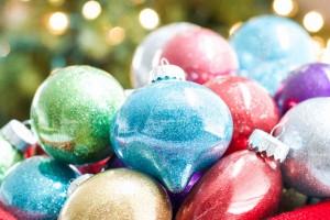 DIY Glitter Ornaments - Best Glittering Glue