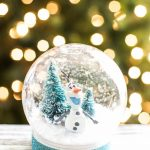 DIY Frozen Olaf Snow Globe