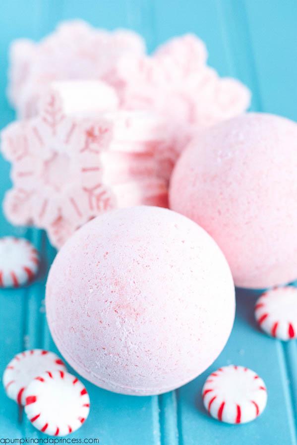 Handmade Peppermint Bath Bombs A Pumpkin And A Princess