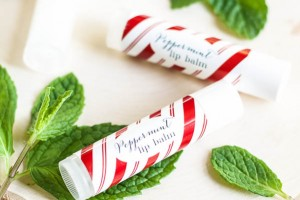 DIY Peppermint Lip Balm