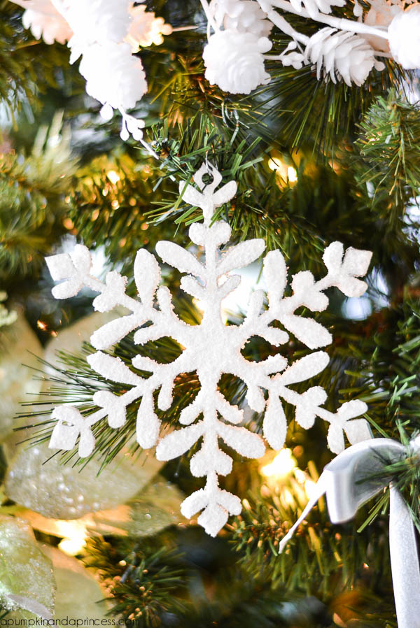 Epsom Salt Snowflake Ornament