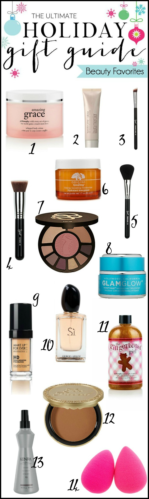 Holiday Gift Guide - Beauty Favorites