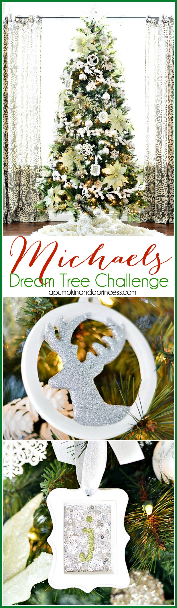 Michaels Dream Tree Challenge - Winter Wonderland Tree
