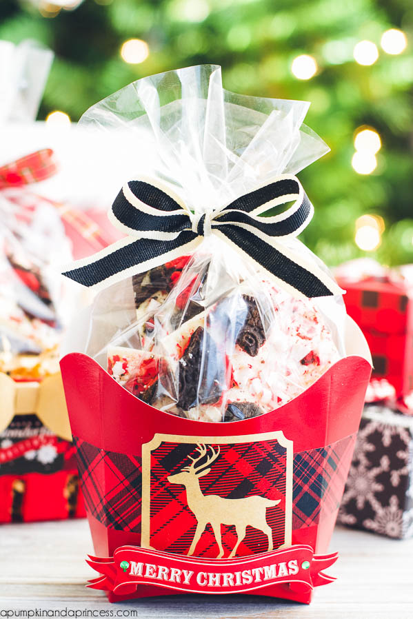 Plaid gift wrapping ideas