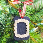 chalkboard tag ornaments