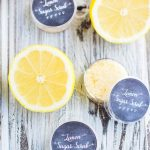 DIY Exfoliating Lemon Lip Scrub