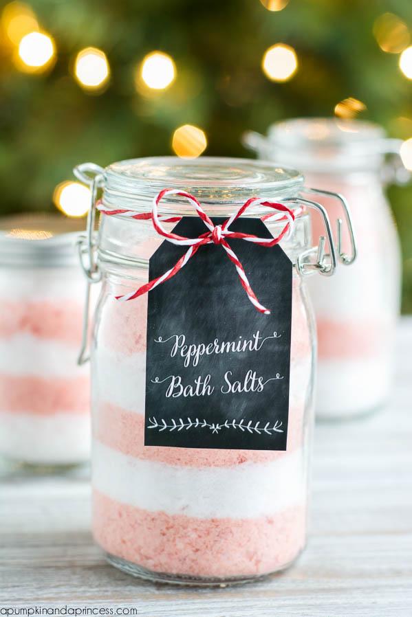 Peppermint Bath Salts