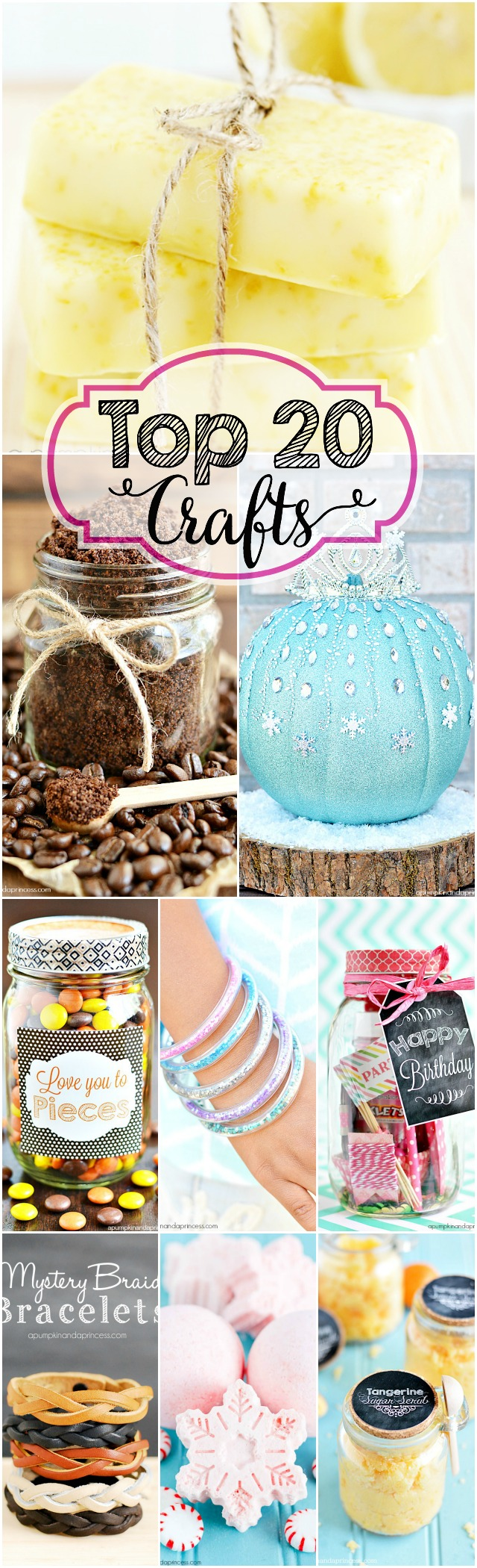 Top 20 Craft Ideas
