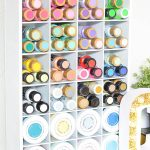 Craft Supplies Cubby Organizer