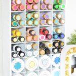 Craft Supplies Cubby Organizer
