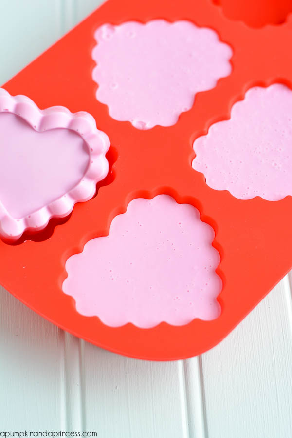 DIY Heart Soap