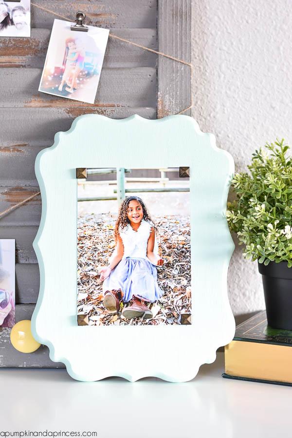 DIY Photo Plaque