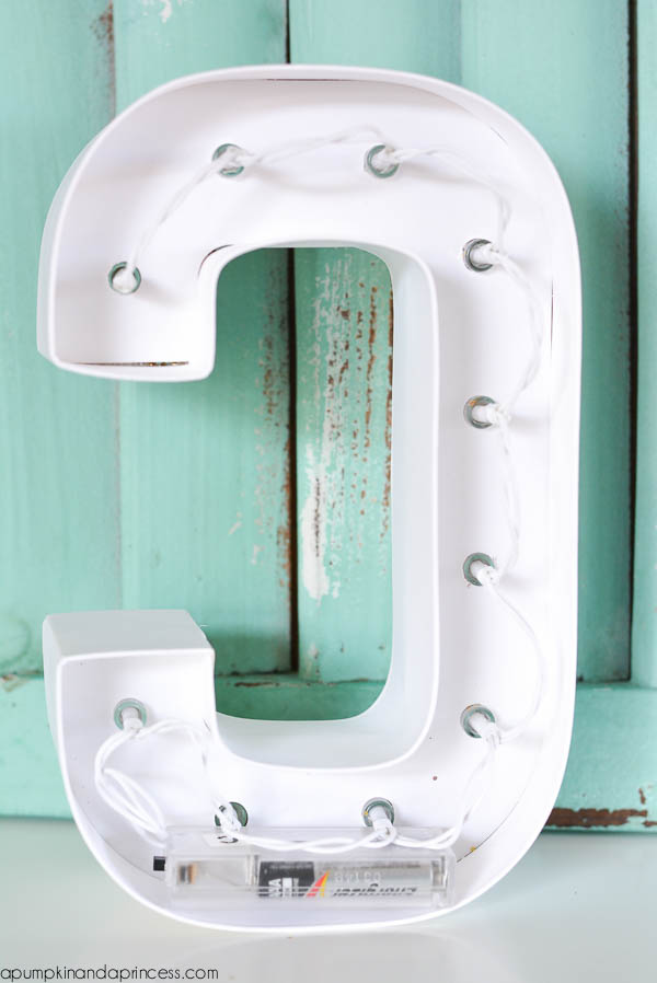 Easy Marquee Letters