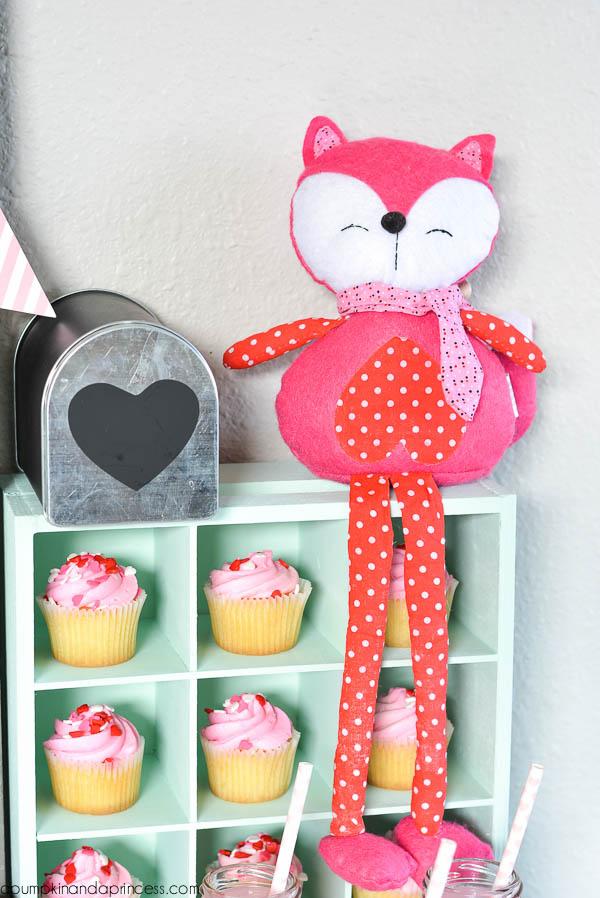 Fox Valentines Day Sacks For Kids