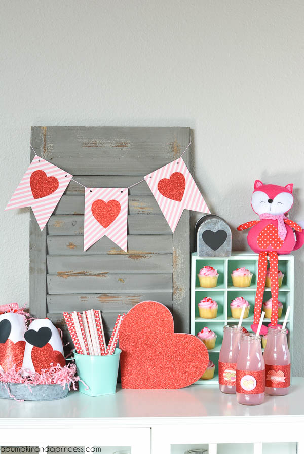 Valentine's Day Party Display