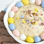 Cadbury Mini Eggs Cheesecake Dip