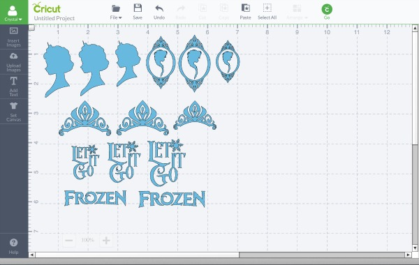 Cricut Disney Frozen crafts