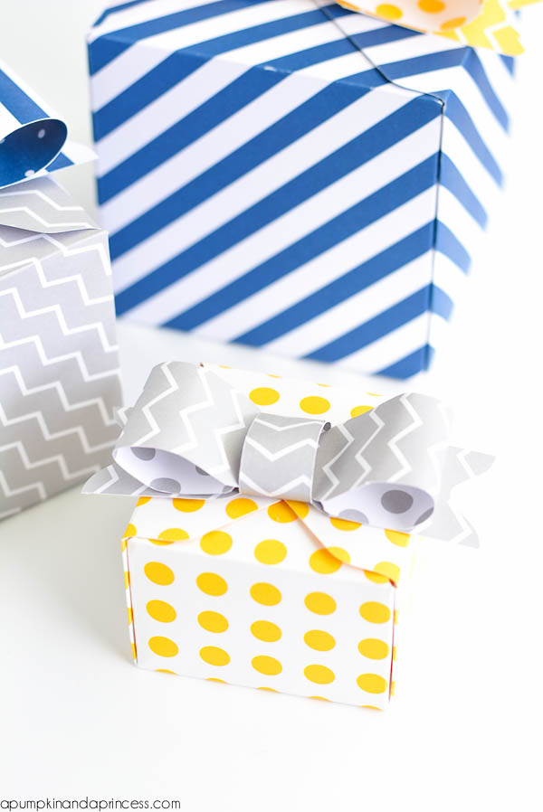 DIY Party Favor Box