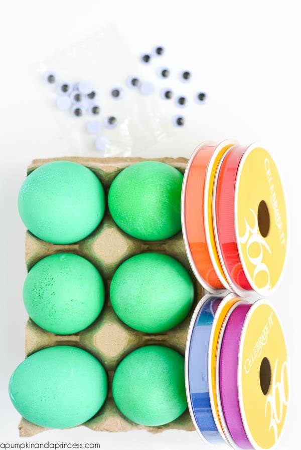 DIY TMNT Eggs