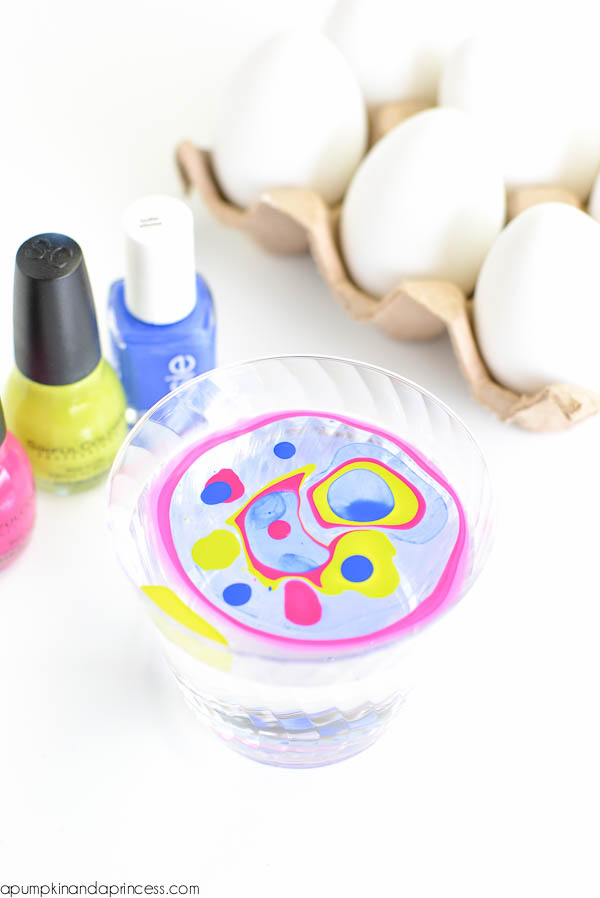 DIY Water Nail Polish Crafts