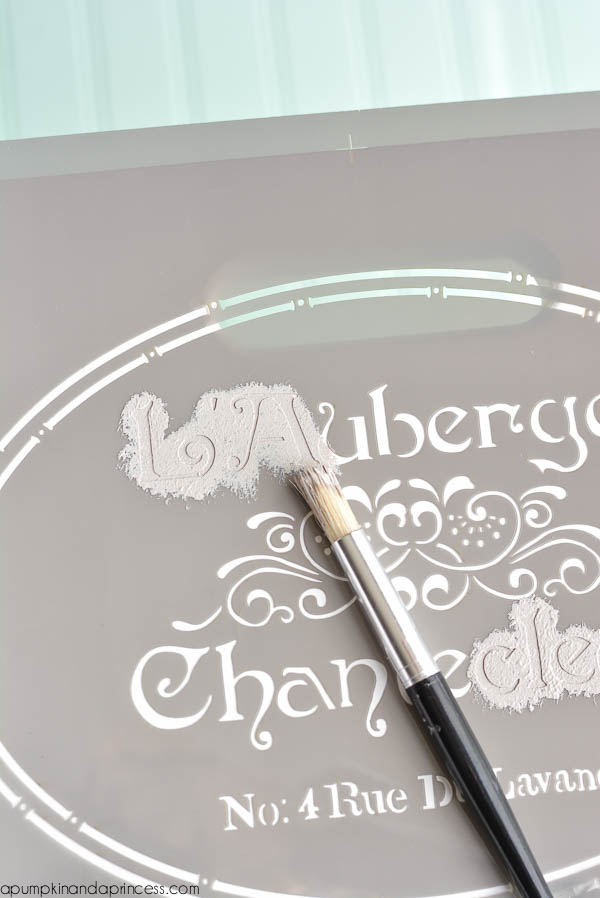 French stencil