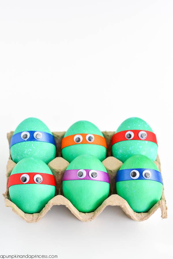Ninja Turtles Easter Eggs
