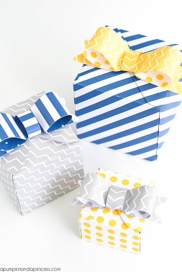 Party Favor Box DIY