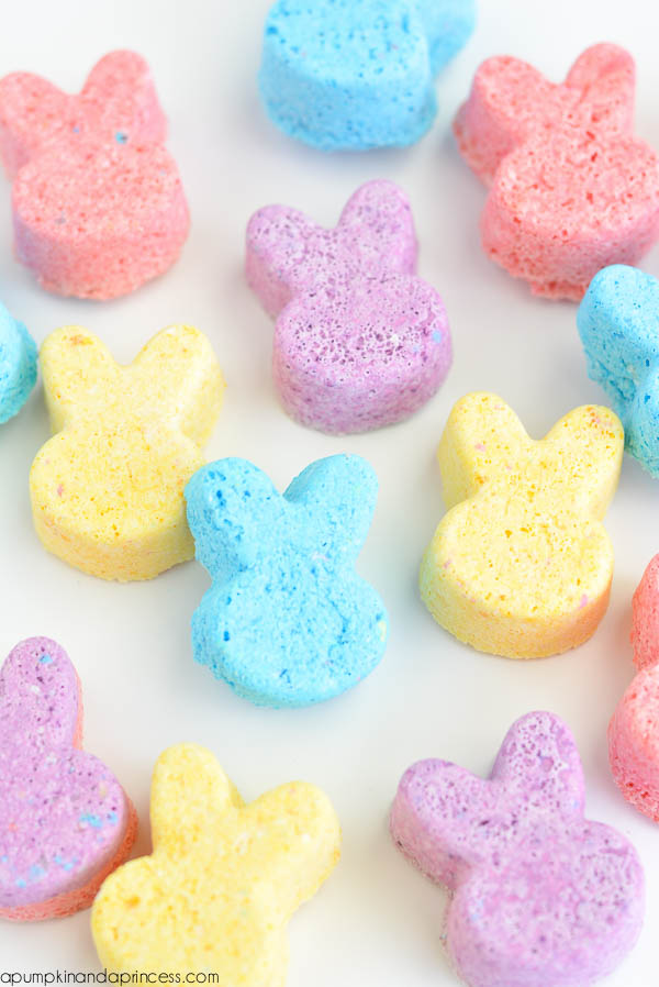 Bunny Bath Bombs DIY_