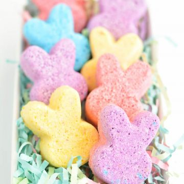 How to make Easter Bunny Bath Bombs