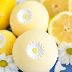 DIY Lemon Bath Bomb