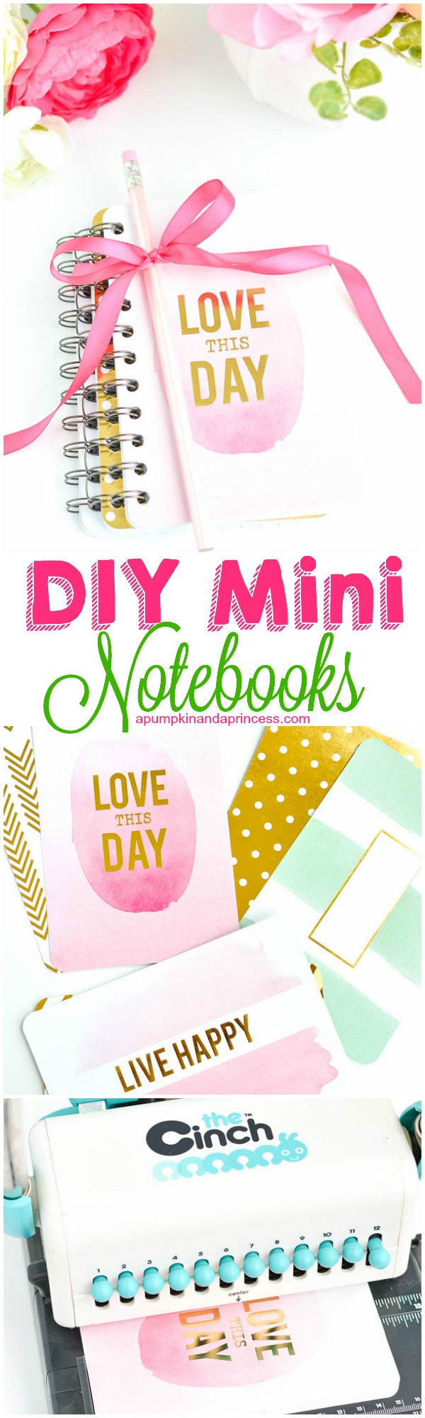 DIY Mini Notebooks